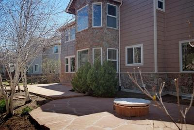 Firepit to Enjoy Cooler Evenings on Second Patio