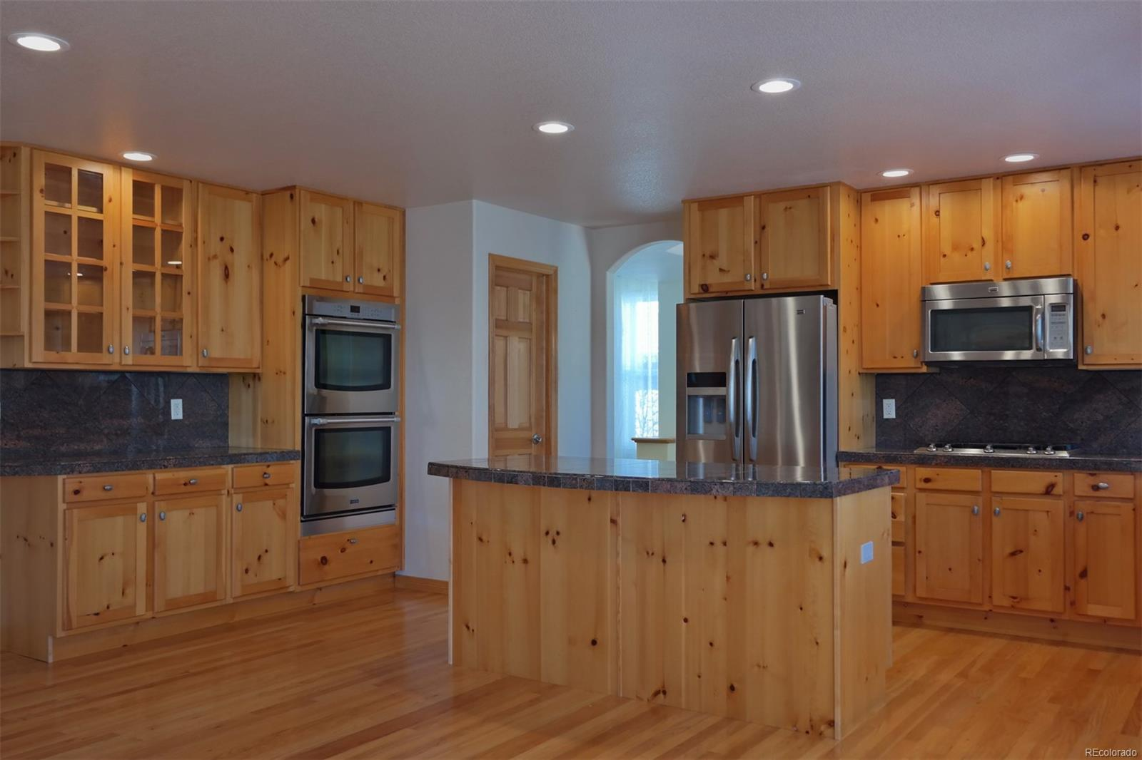 Kitchen Offers Extended Counter Space