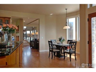 Open Floor Plan w/Solid Oak Floors on Main Level