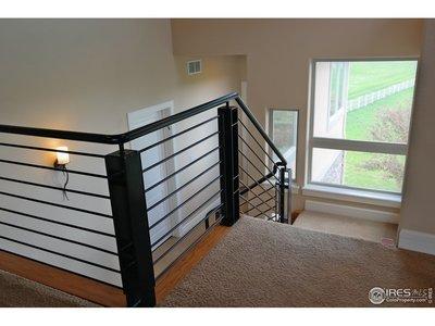 High-End Contemporary Stair Railing