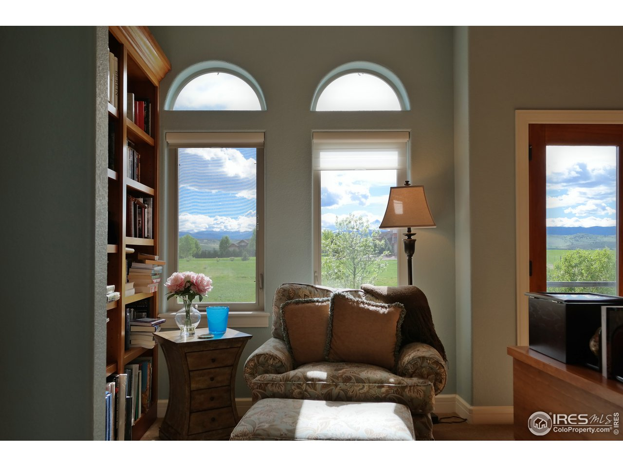 Cozy Nook w/Bookshelves for Personal Time
