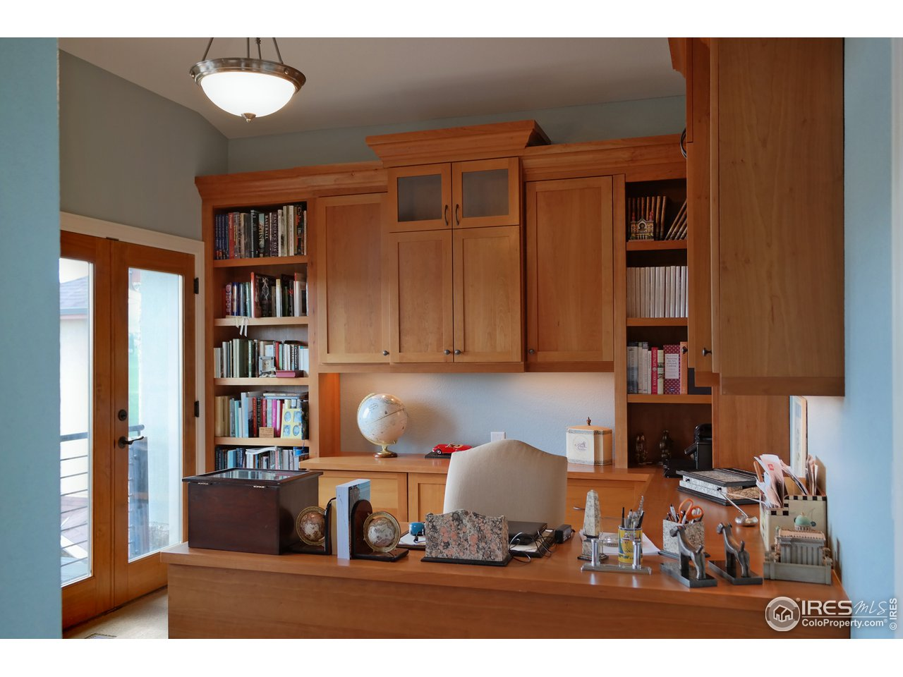 Office w/Built-Ins & Private Viewing Balcony