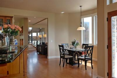 Open Floor Plan w/Solid Oak Floors on Main Level