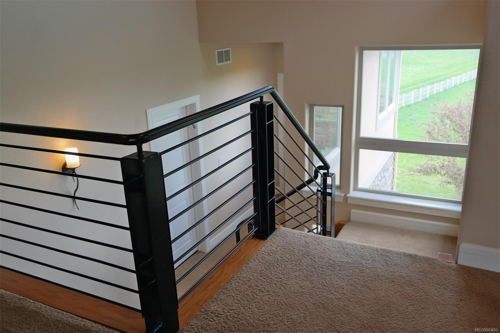 High-End Contemporary Stair Railing