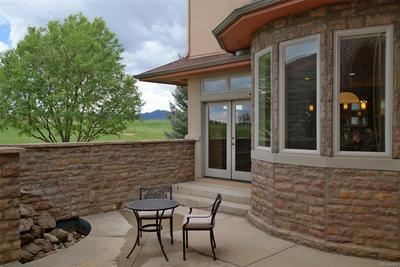 Enclosed & Private Front Patio