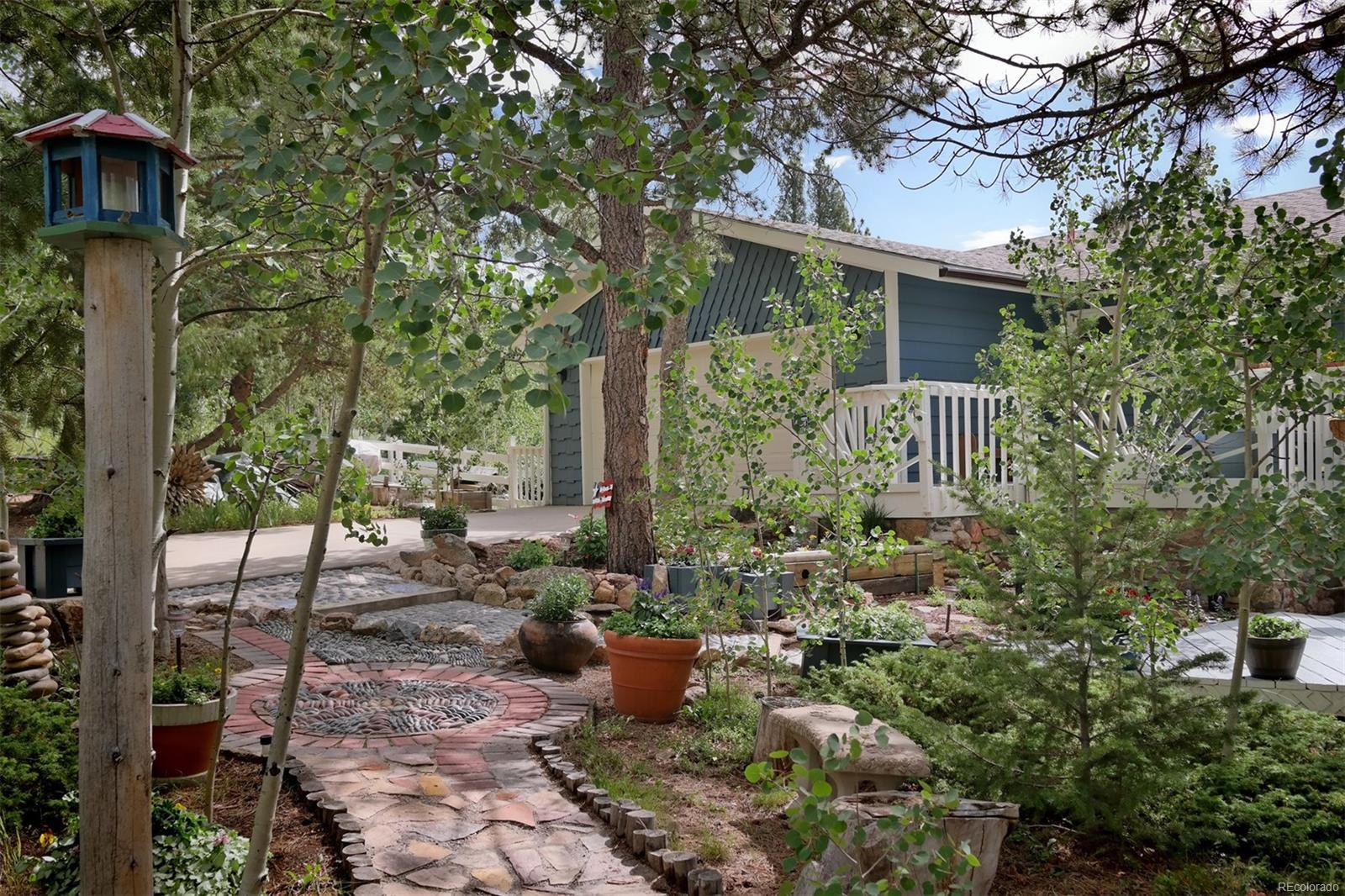 Fenced Area & Garden Beds