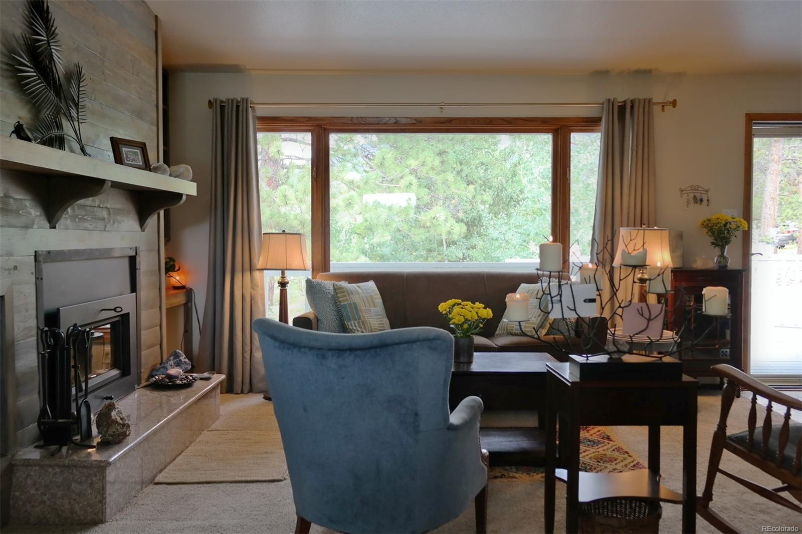 Large Window for Natural Light & Views