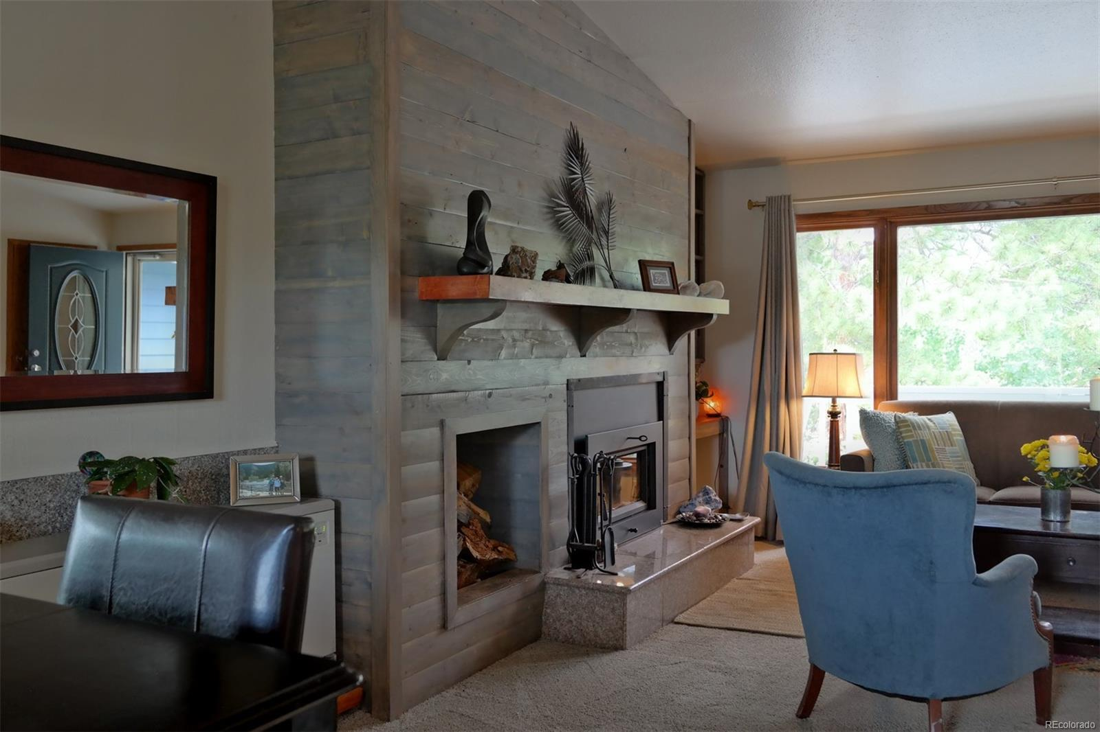 Gorgeous Updated Fireplace Wall & Mantel