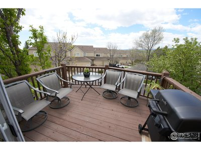 Deck off of Dining