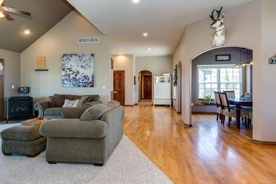 High ceilings with recessed lighting