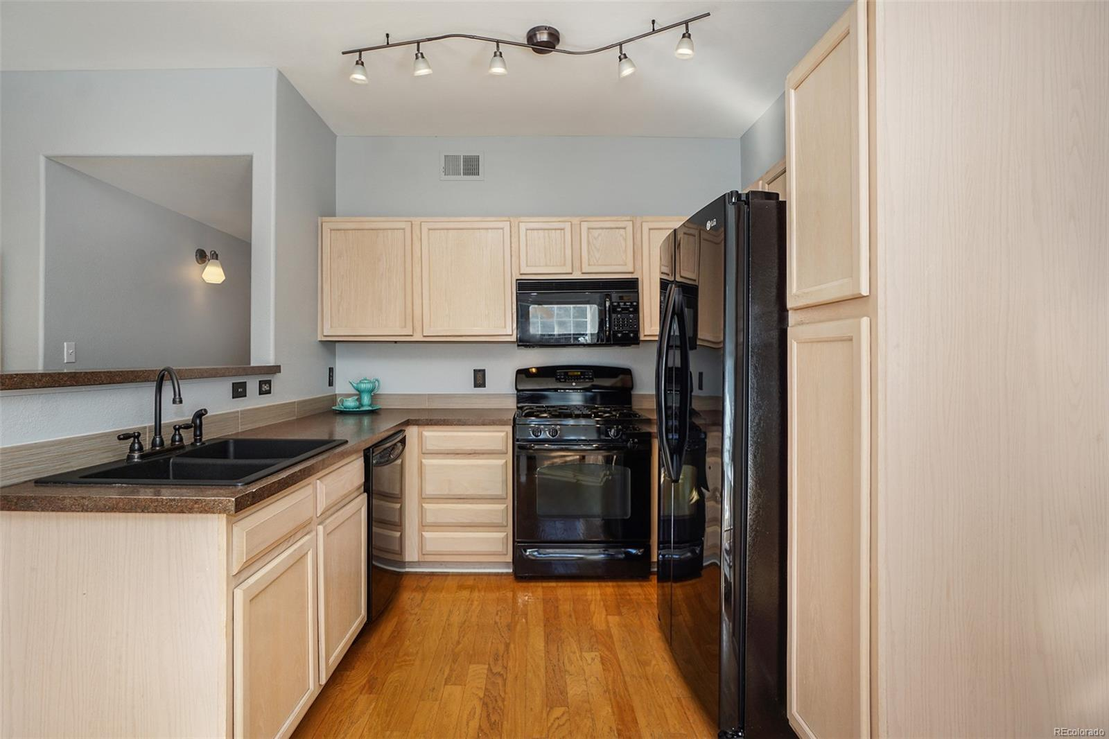 Clean & functional kitchen with open floorplan