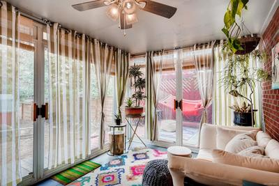 A sun room/solarium that is sure to be one of your favorite rooms in the house!