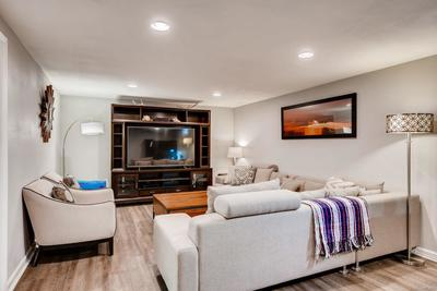 Your basement oasis awaits - with too many possibilities to count!