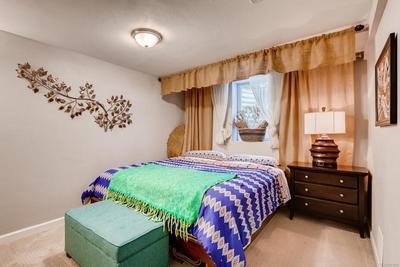Full 3rd bedroom with egress window