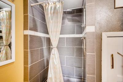 Basement bathroom - perfect for out of town guests or roommates!