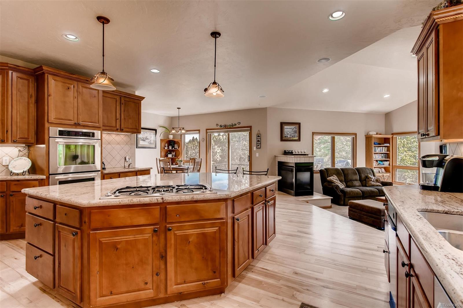 You'll relish the beautiful cabinetry and counter tops and immediately see how w