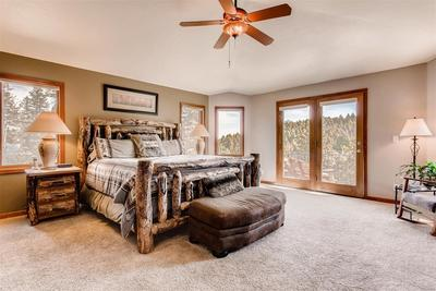 The large master suite is a welcome retreat from your busy day. You can enjoy th