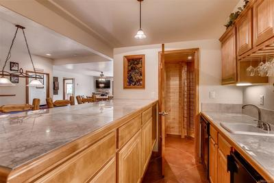 Downstairs off the gaming area, there is a fabulous wet-bar. The 270 capacity wi