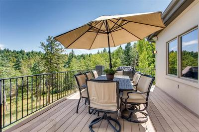 As you can see, the main deck is the epitome of outdoor living. Grill up your me