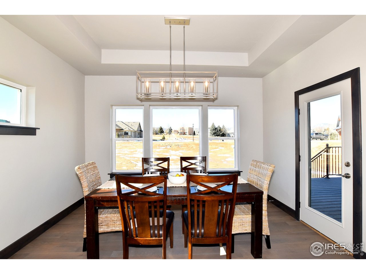 Dining Room with Deck Access