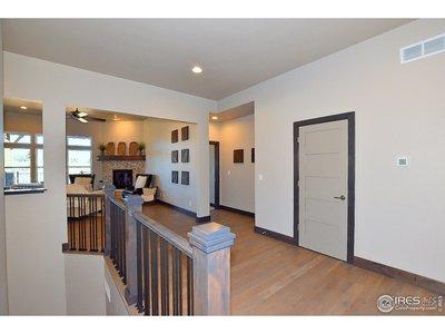 Entry Way with Beautiful Hardwood Floors