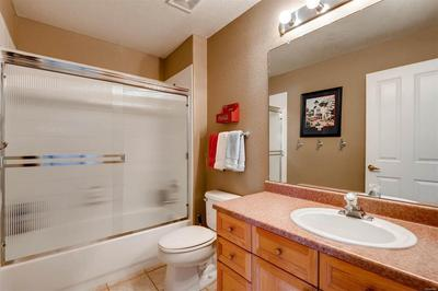 Guest or 2nd bedroom bath.