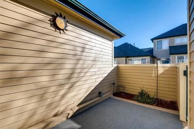 Enjoy Colorado living on your spacious and private enclosed patio.