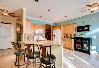 Fabulous breakfast nook area and large kitchen.