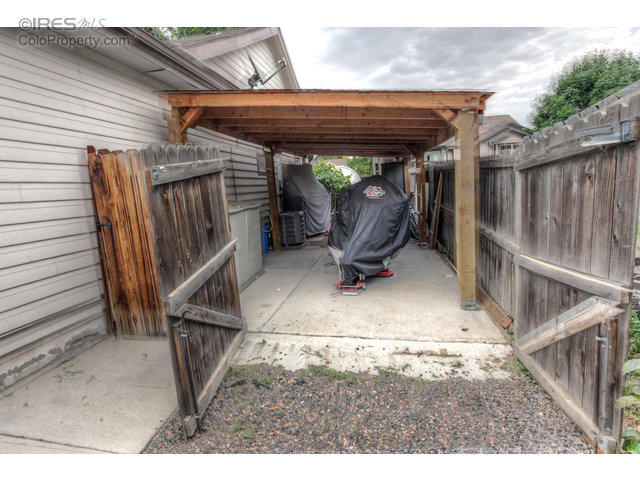 Covered storage/carport