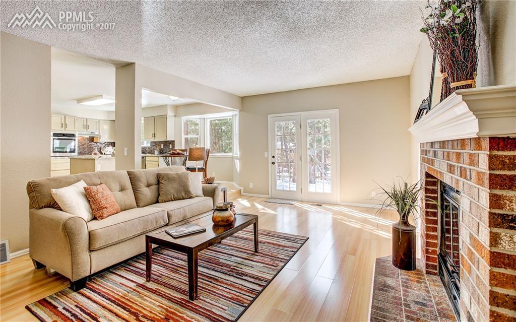 Cozy Family Room w/ Fireplace