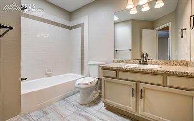 2nd Full Bath on Upper Level