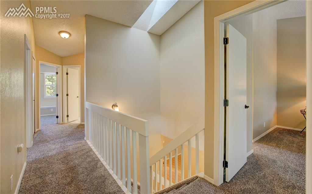 Upstairs Hallway w/ 4 bedrooms