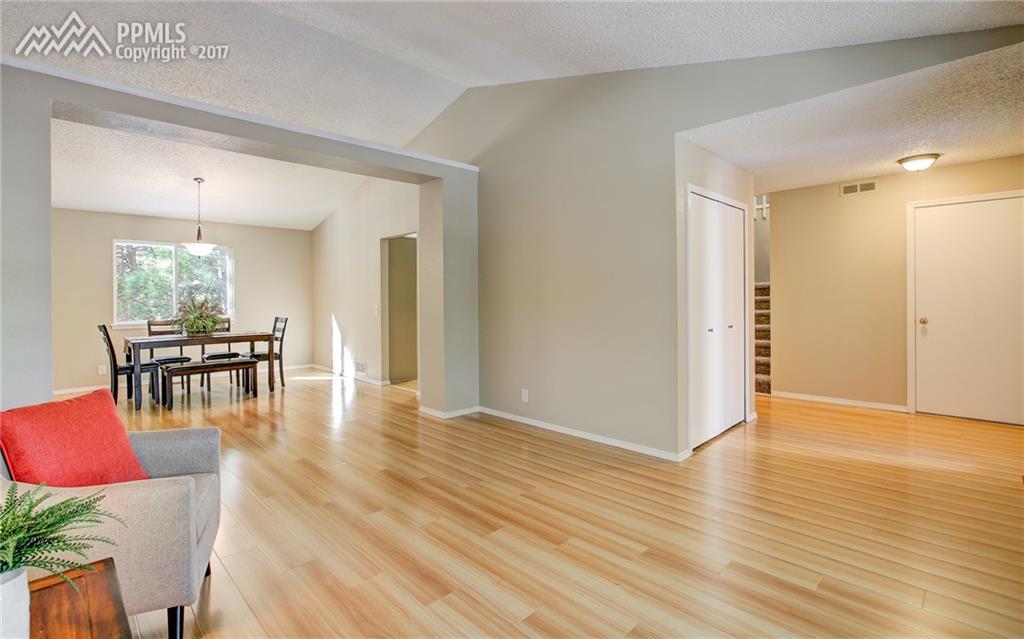 Vaulted Ceilings, Wood Floors