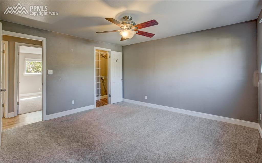 Ceiling Fan, Walk-In Closet