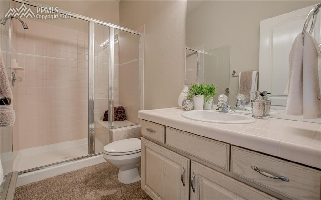 3/4 Bath Located on Main