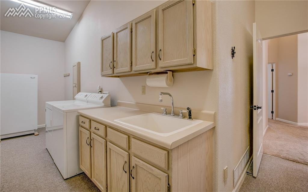 Large Main Level Laundry Room