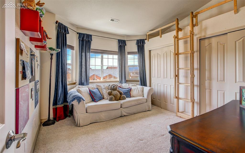 Bedroom 4, Inviting Bay Window & Unique Touches