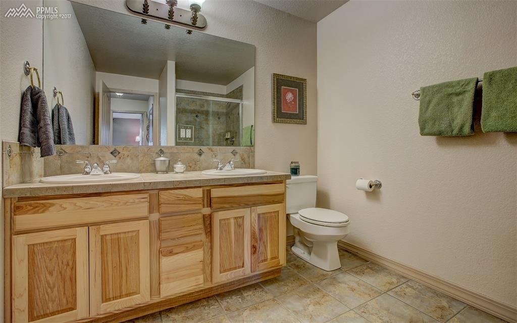 Pristine 3/4 Bath, Lower Level