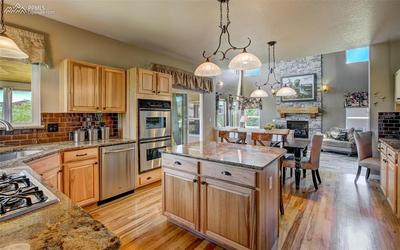 Beautiful Kitchen, Stainless Steel Appliances
