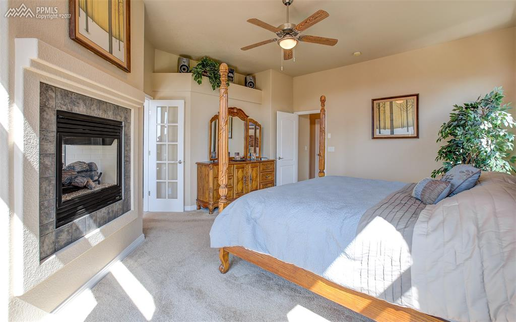 Pass Through Fireplace To Attached Master Bath