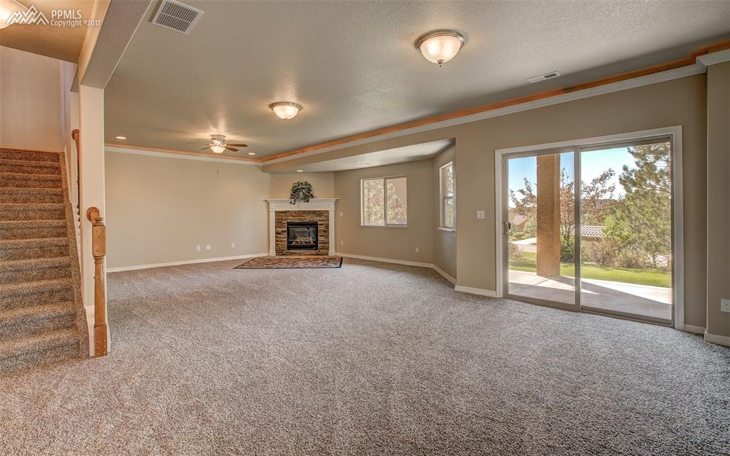 Lower Level Family Room W/ Walkout To Private Yard