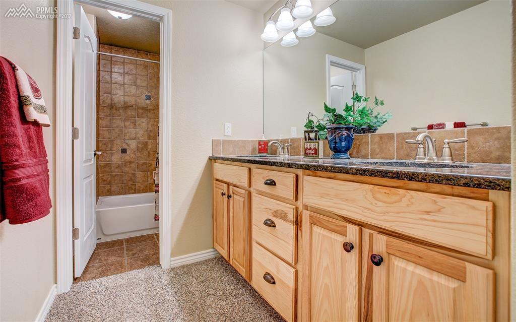 3rd Full Bath, Double Sinks, Lower Level