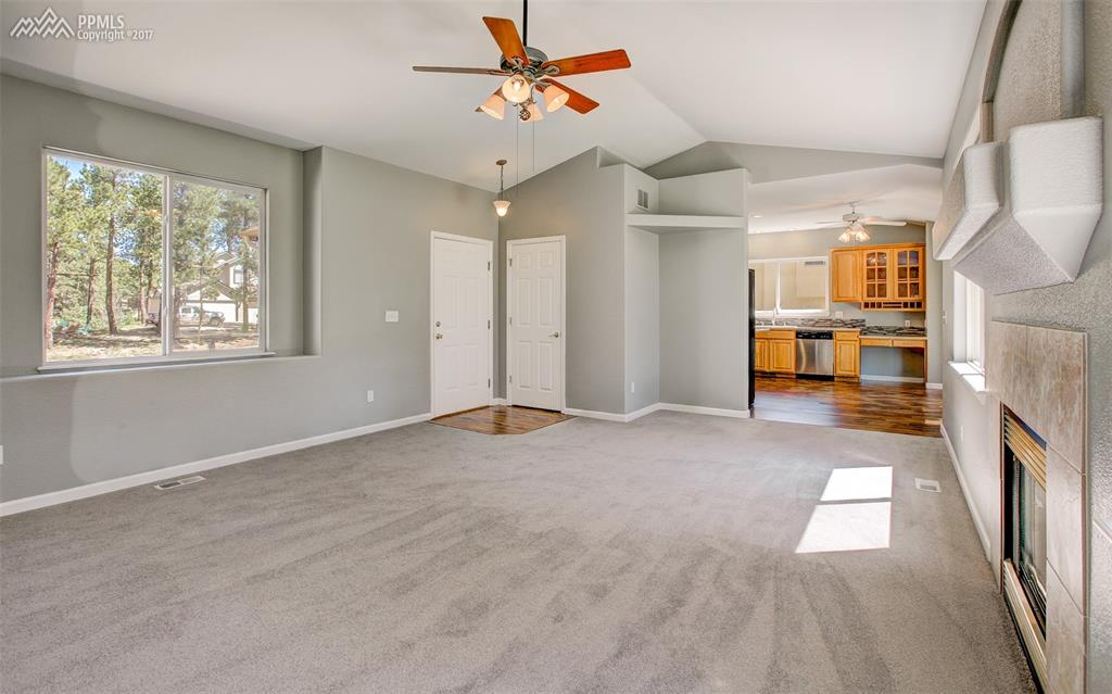 Brightly Lit, Expansive Family Room