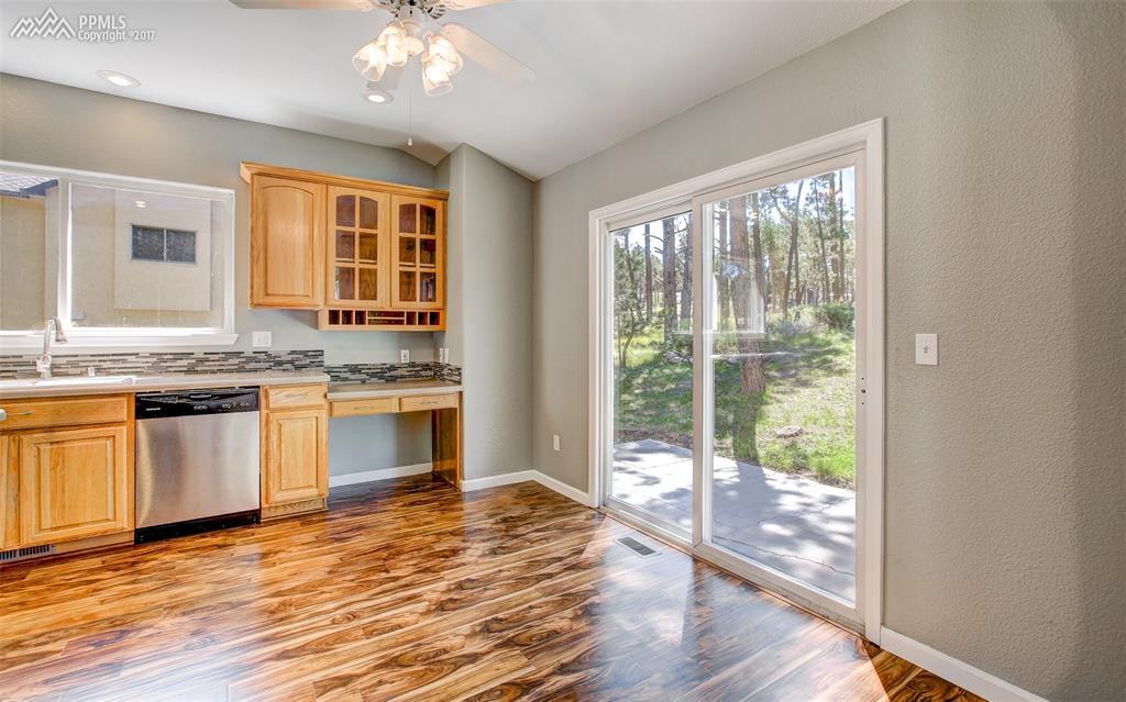 Kitchen Work Area/Desk Space