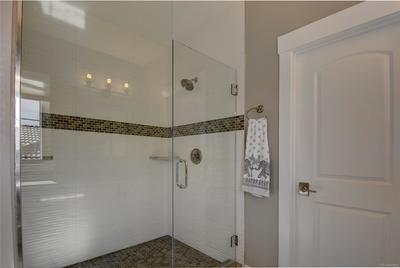 Second floor 3/4 bath.