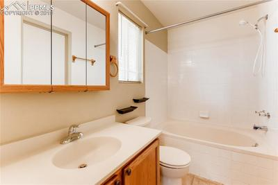 ...with over-sized soaking tub and large walk-in closet.