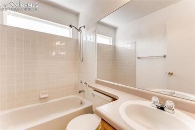 Main level full bath.