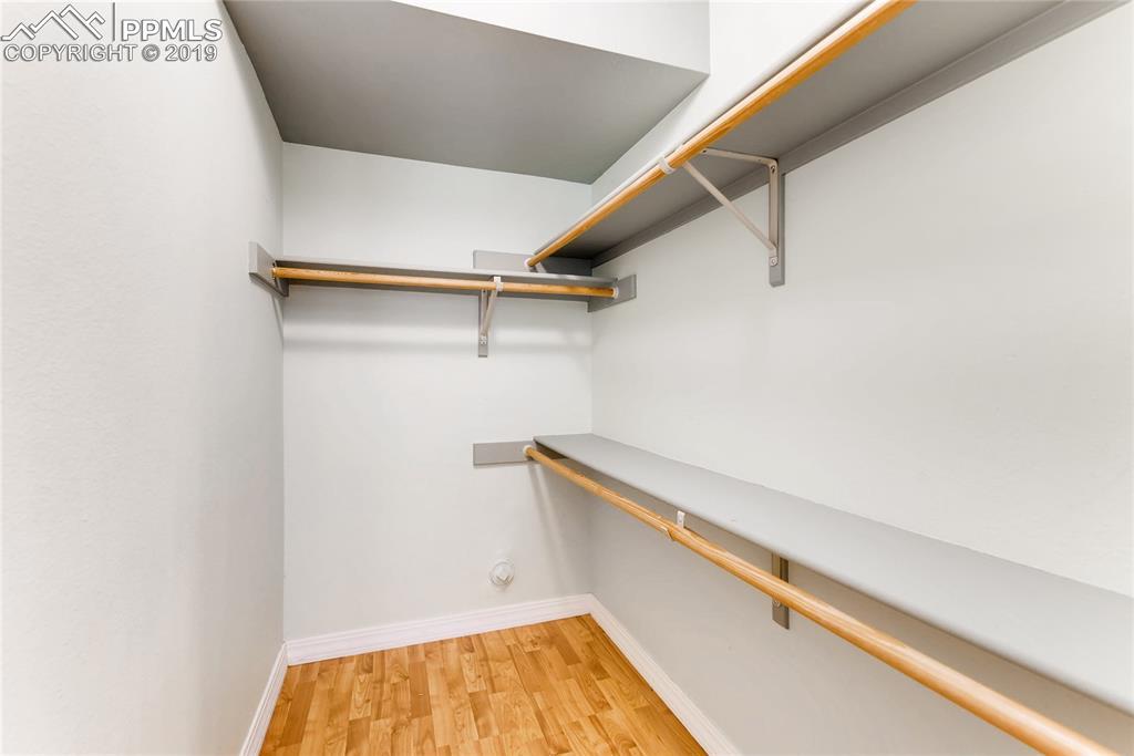 Both basement bedrooms feature a walk-in closet.
