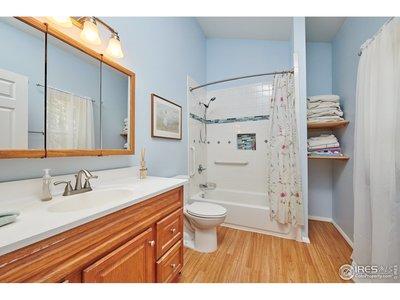 Full master bath added on in 2012