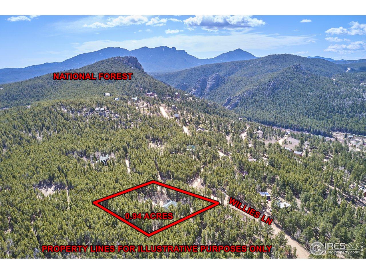 Rollins Peak offers great trails